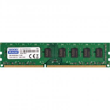 Модуль памяти для компьютера DDR3 4GB 1600 MHz Goodram (GR1600D364L11/4G) - фото 1