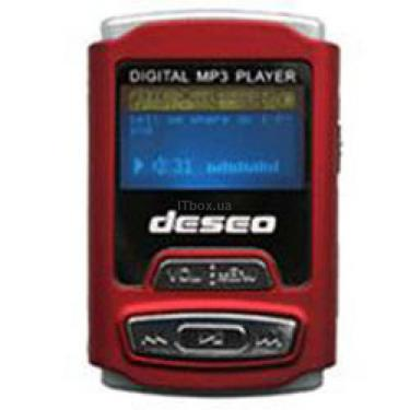 mp3 плеєр TakeMS Deseo 2GB Red (TMS2GMP3-DESEO-R) - фото 1