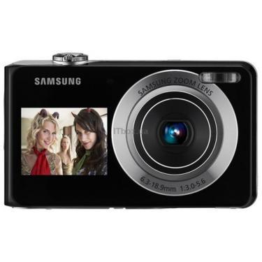Цифровой фотоаппарат PL100 black Samsung (EC-PL100ZBPBRU) - фото 1