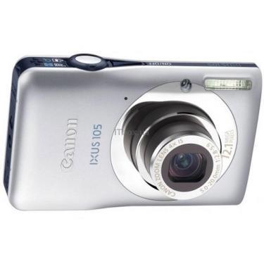 Цифровой фотоаппарат IXUS 105is silver Canon (4219B001/4219B035) - фото 1