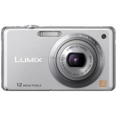 Цифровой фотоаппарат Lumix DMC-FS10EE-S silver PANASONIC (DMC-FS10EE-S) - фото 1