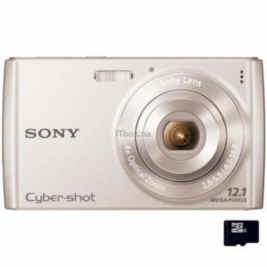 Цифровой фотоаппарат Cybershot DSC-W510 silver Sony (DSCW510S.CEE2) - фото 1