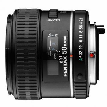 Объектив SMC D FA 50mm f/2.8 macro Pentax (21530) - фото 1