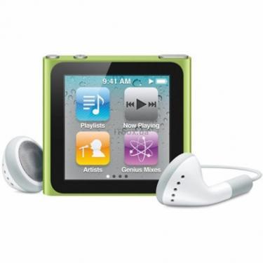 mp3 плеєр Apple iPod Nano 6Gen 16GB Green (MC696QB/A) - фото 1