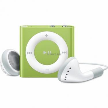 mp3 плеєр Apple iPod Shuffle 4Gen 2GB Green (MC750RP/A) - фото 1