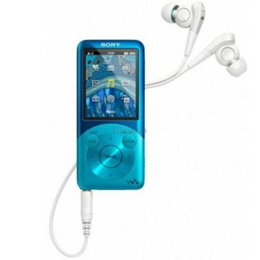 mp3 плеєр Walkman NWZ-S754 blue Sony (NWZS754L.CEV) - фото 1
