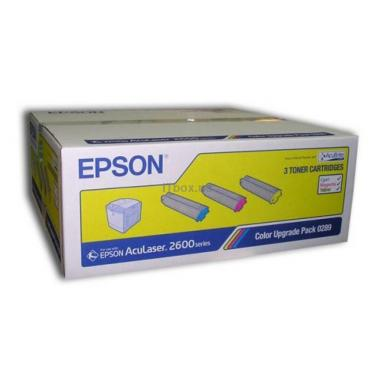 Картридж EPSON AcuLaser C2600 Bundle (CMY) (C13S050289) - фото 1