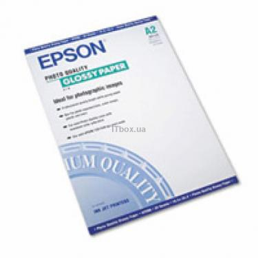 Бумага EPSON A2 Photo Quality Glossy Paper (C13S041123) - фото 1