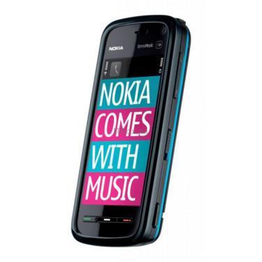 Мобільний телефон 5800 Navi Blue Nokia (002R3Q4) - фото 1