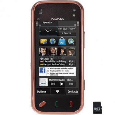 Мобильный телефон N97 mini Garnet Nokia - фото 1