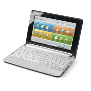 Ноутбук Acer Aspire One A751 White (LU.S780B.485) - фото 1