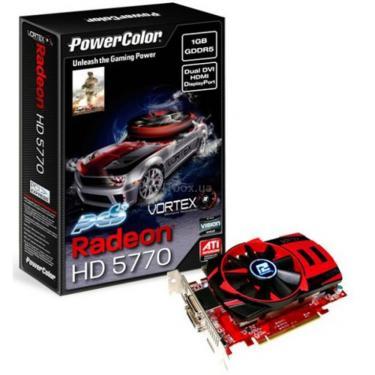 Відеокарта Radeon HD 5770 1024Mb Vortex PCS+ PowerColor (AX5770 1GBD5-PPVG) - фото 1