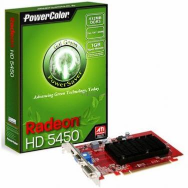 Відеокарта Radeon HD 5450 512MB PowerColor (AX5450 512MK3-SHV2) - фото 1