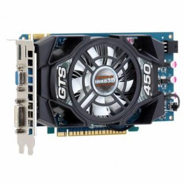 Відеокарта GeForce GTS450 1024Mb INNO3D (N450-4SDN-D5CX / N450-3SDN-D5CX) - фото 1