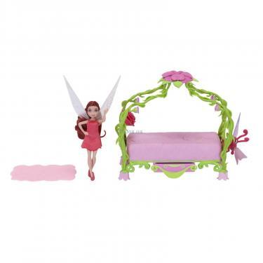 Игровой набор Disney Fairies Jakks Спальня феи Розетты Фото 1