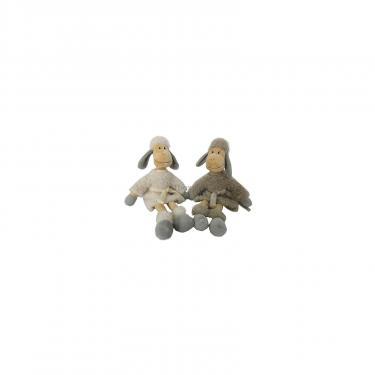 Мягкая игрушка Lava Овечка в шубке натурального цвета (муз., 24 см) Фото