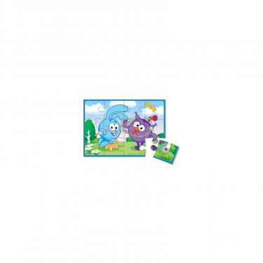 Пазл Vladi Toys А5 Смешарики Крош и Совунья 12 элементов Фото