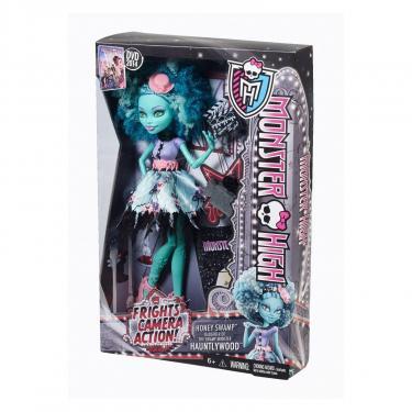 Кукла Monster High Хани Свомп из м/ф Страх, камера, мотор Фото 9