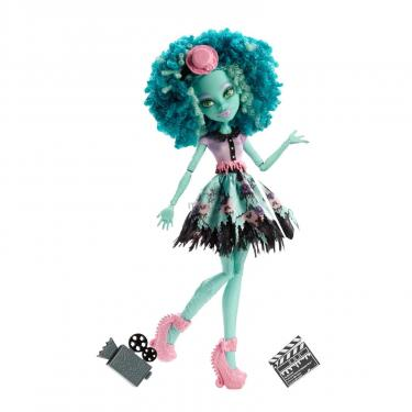 Кукла Monster High Хани Свомп из м/ф Страх, камера, мотор Фото 1