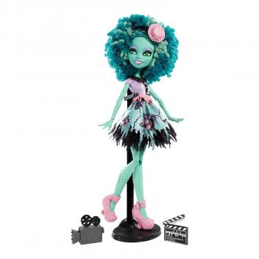 Кукла Monster High Хани Свомп из м/ф Страх, камера, мотор Фото