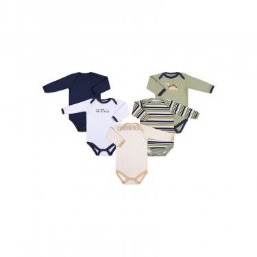 Боди Luvable Friends 5 шт с длинными рукавами для мальчиков (38055.0-3) - фото 1