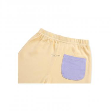 Набор детской одежды Luvable Friends из бамбука фиолетовый для девочек Фото 3