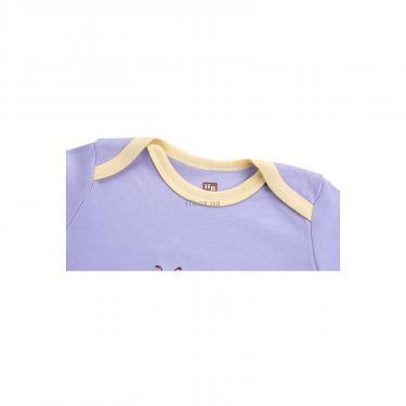 Набор детской одежды Luvable Friends из бамбука фиолетовый для девочек Фото 4
