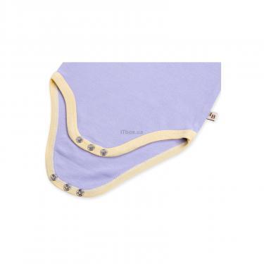 Набор детской одежды Luvable Friends из бамбука фиолетовый для девочек Фото 5