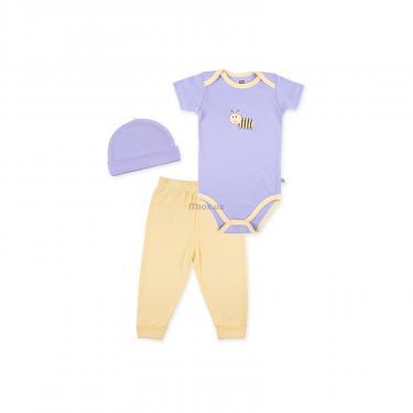 Набор детской одежды Luvable Friends из бамбука фиолетовый для девочек Фото