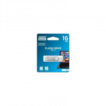 USB флеш накопитель GOODRAM 16GB Twister White USB 2.0 (UTS2-0160W0R11) - фото 1
