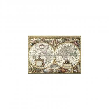 Пазл Ravensburger Древняя карта Мира 1000 элементов Фото 1