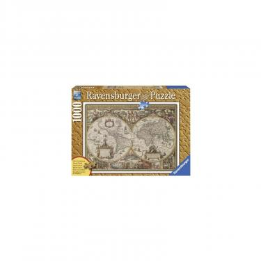 Пазл Ravensburger Древняя карта Мира 1000 элементов Фото