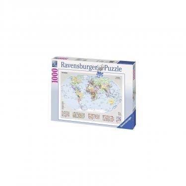 Пазл Ravensburger Политическая карта Мира 1000 элементов Фото