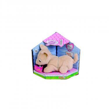 Мягкая игрушка Chi Chi Love Чихуахуа Игривый щенок со звуком и махающим хвосто Фото 1