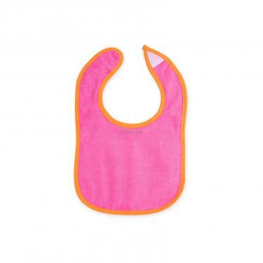 Слинявчик Luvable Friends 5 шт для девочек с надписями, розовый (2189-pink) - фото 4