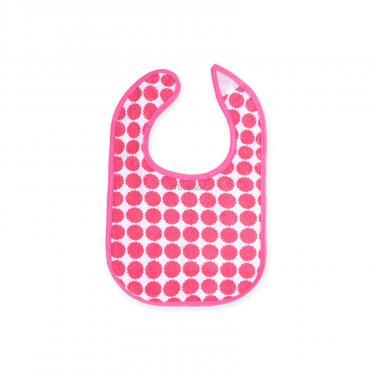 Слинявчик Luvable Friends 5 шт для девочек с надписями, розовый (2189-pink) - фото 5