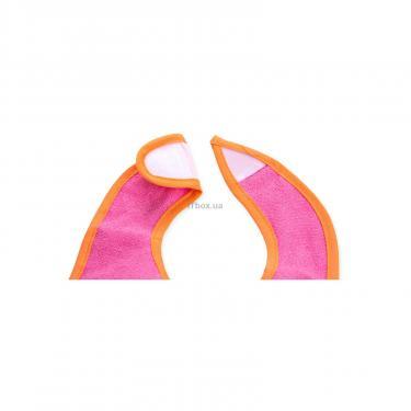 Слинявчик Luvable Friends 5 шт для девочек с надписями, розовый (2189-pink) - фото 7
