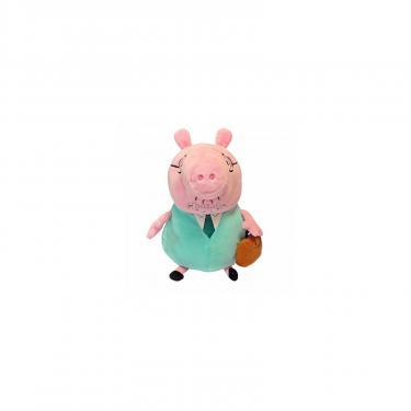 Мягкая игрушка Peppa Папа Свин с портфелем 30 см Фото 1