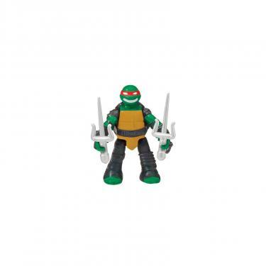 Игровой набор TMNT Черепашки-Ниндзя Micro Рафаэль и Рокстеди на мотоц Фото 1