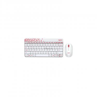 Комплект Logitech Wireless Combo MK240 Ru White (920-008212) - фото 1