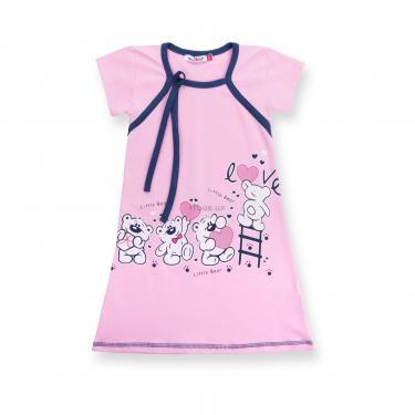 """Пижама Matilda и халат с мишками """"Love"""" (7445-110G-pink) - фото 3"""