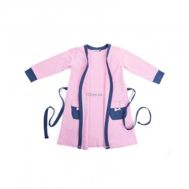 """Пижама Matilda и халат с мишками """"Love"""" (7445-110G-pink) - фото 4"""
