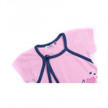 """Пижама Matilda и халат с мишками """"Love"""" (7445-110G-pink) - фото 6"""