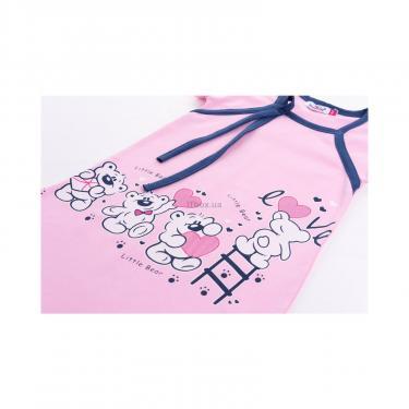 """Пижама Matilda и халат с мишками """"Love"""" (7445-110G-pink) - фото 8"""