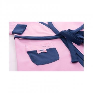 """Пижама Matilda и халат с мишками """"Love"""" (7445-110G-pink) - фото 9"""