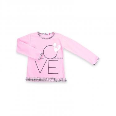 """Пижама Matilda с сердечками """"Love"""" (7585-98G-pink) - фото 2"""