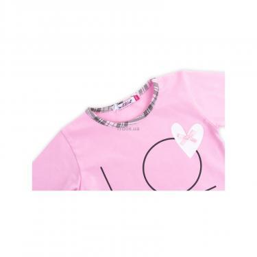 """Пижама Matilda с сердечками """"Love"""" (7585-98G-pink) - фото 6"""