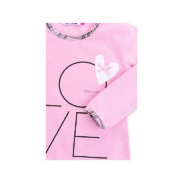 """Пижама Matilda с сердечками """"Love"""" (7585-98G-pink) - фото 8"""