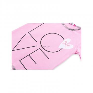 """Пижама Matilda с сердечками """"Love"""" (7585-98G-pink) - фото 9"""