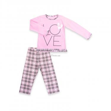 """Пижама Matilda с сердечками """"Love"""" (7585-98G-pink) - фото 1"""